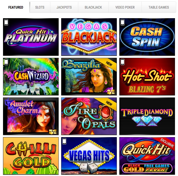 golden nugget casino online sizzling hot
