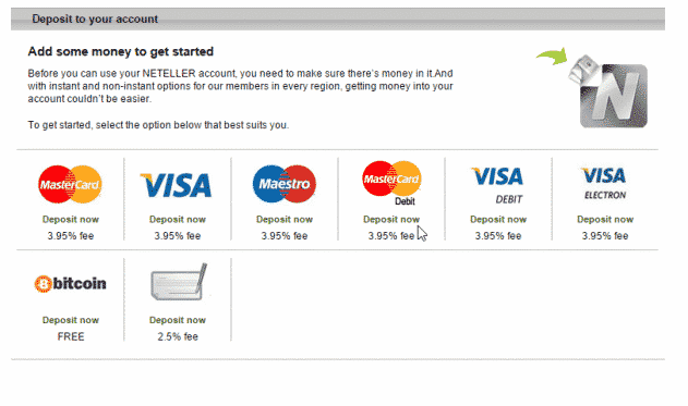 Neteller Layout