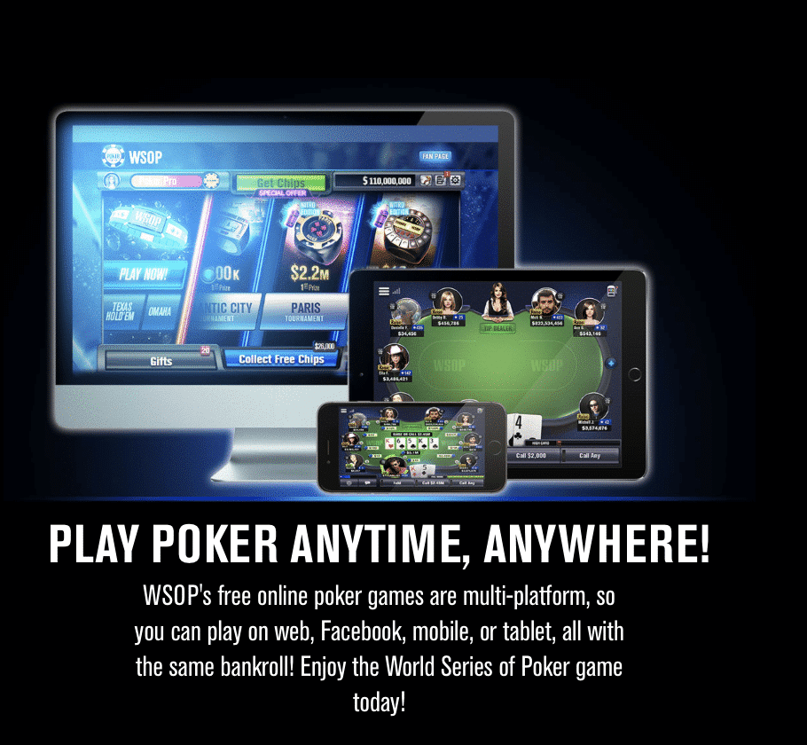 WSOP Poker Online New Jersey Mobile