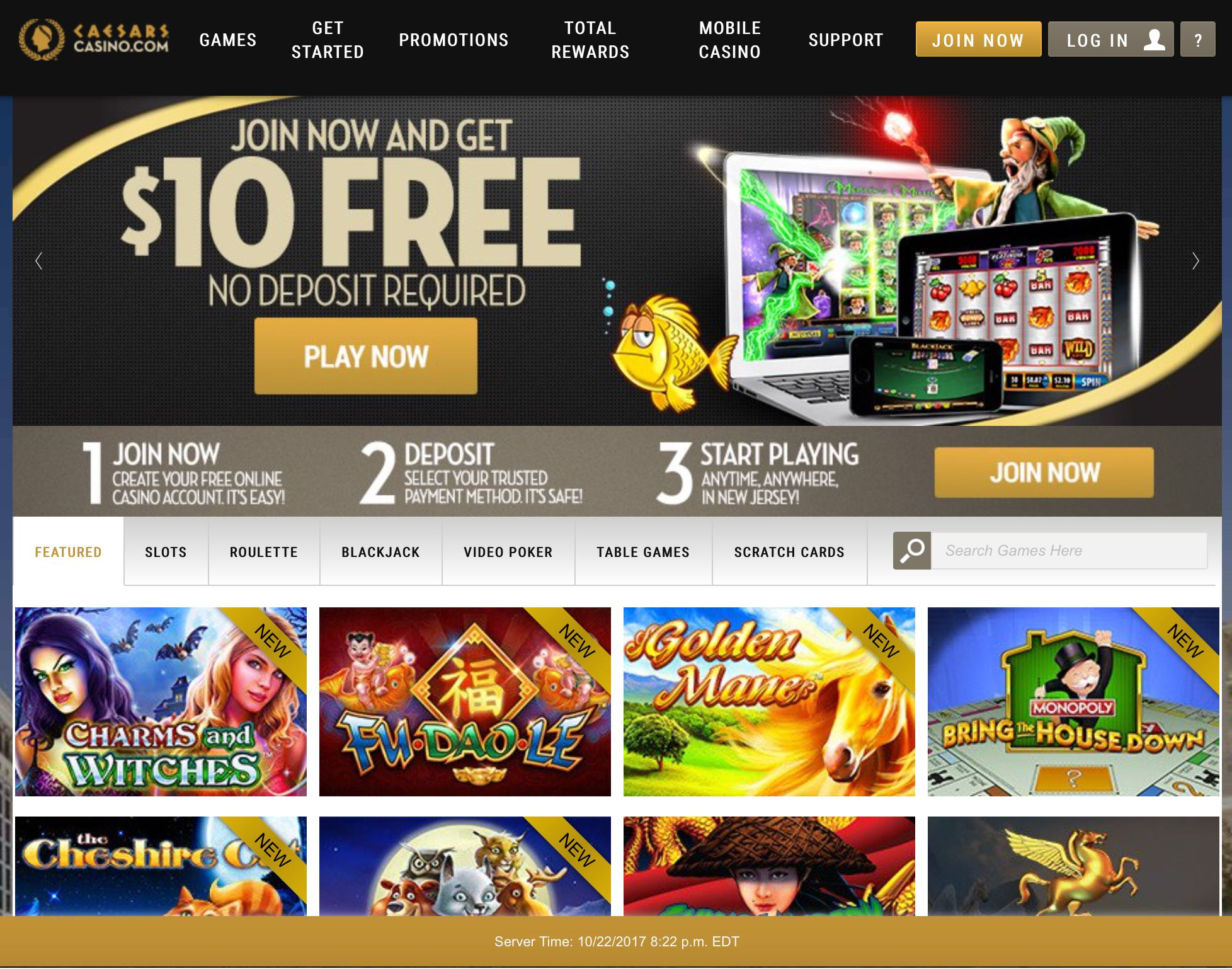 video casino games online