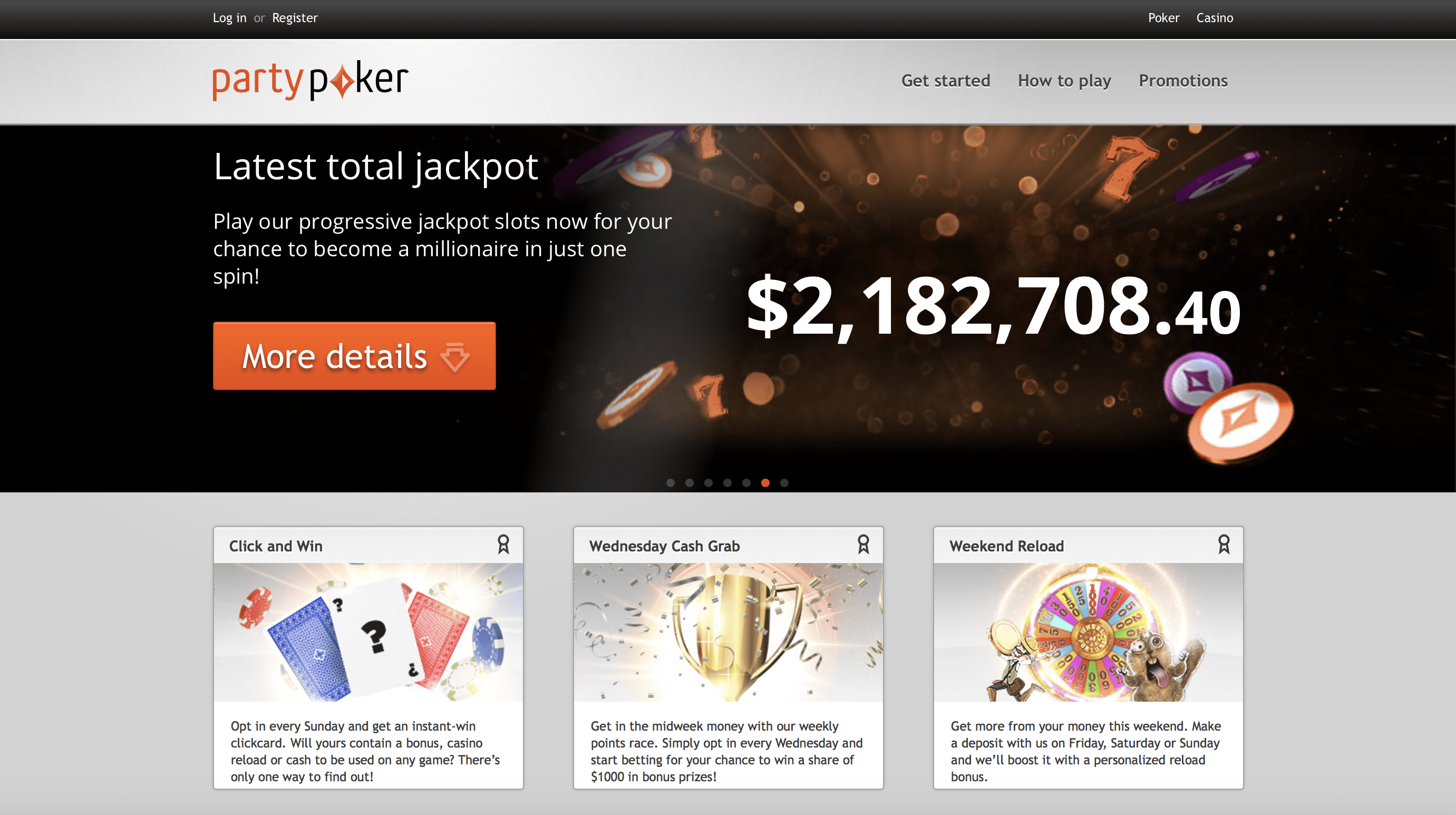 Party Poker NJ Online Poker Website