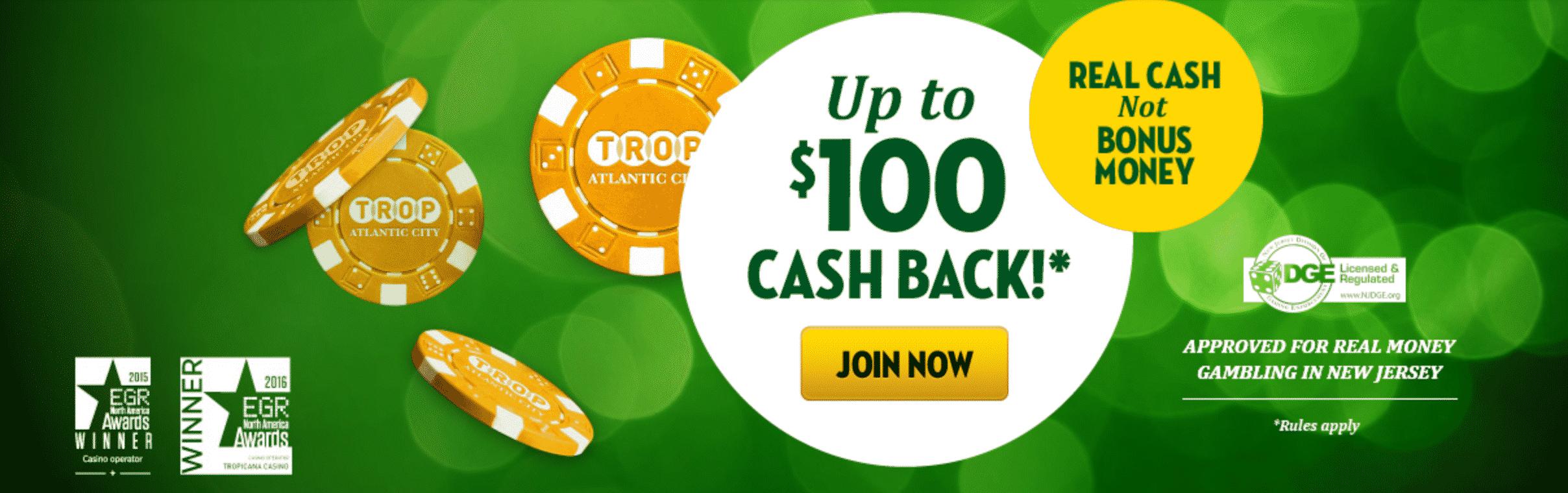 tropicana casino online slots