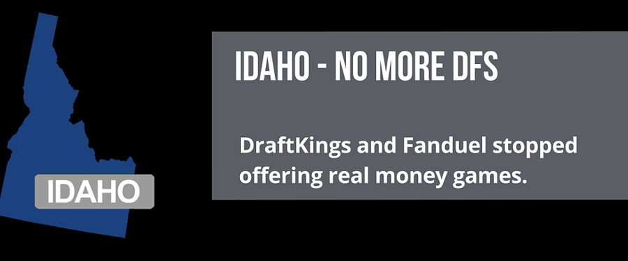 DraftKings and FanDuel Stop in Idaho
