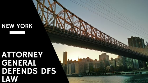 New York Attorney General Defends DFS Law in New Court Filing
