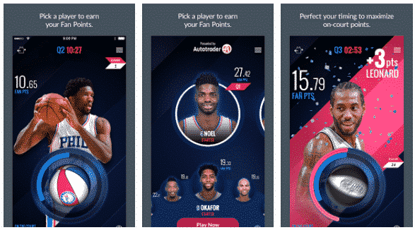 NBA InPlay App