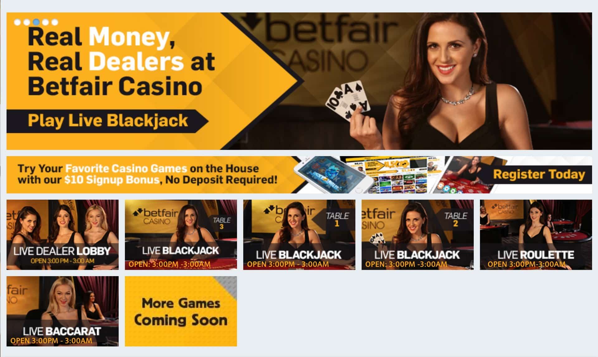 Betfair Casino NJ