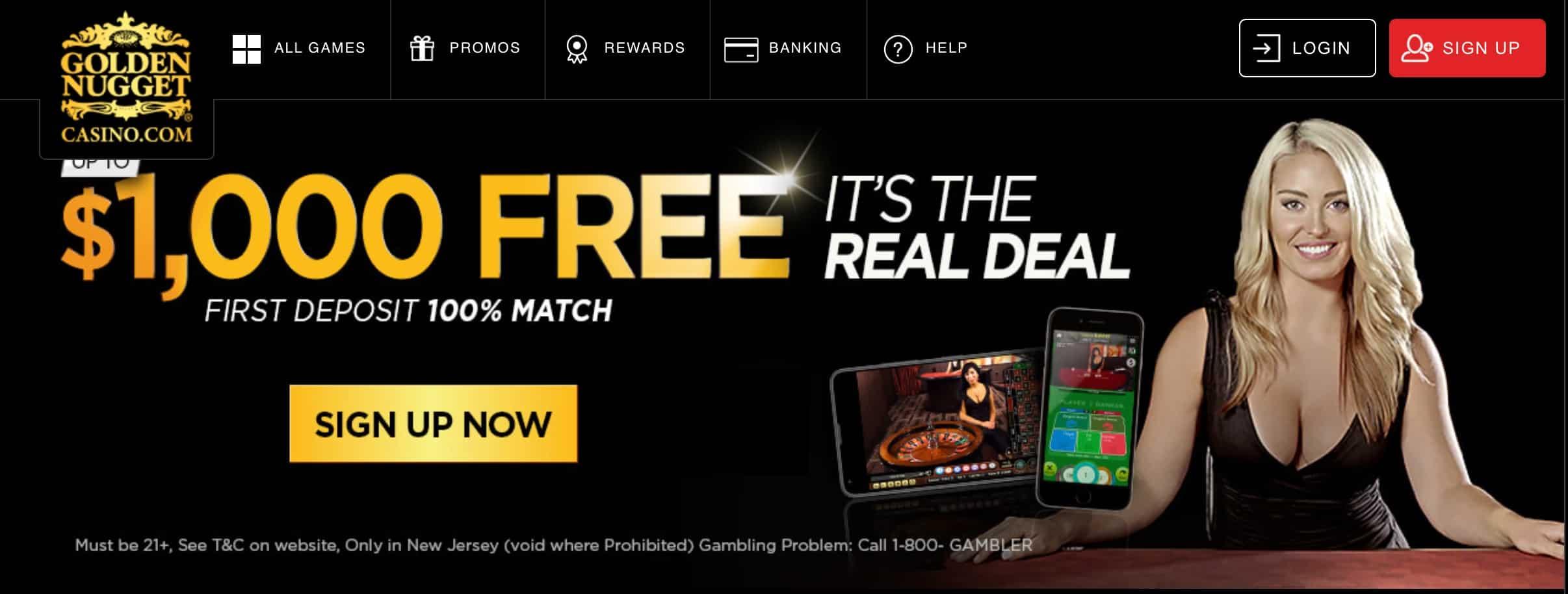 golden nugget casino online nj