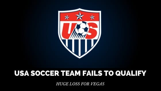 USA Soccer Team Fails to Qualify – Huge loss for Vegas