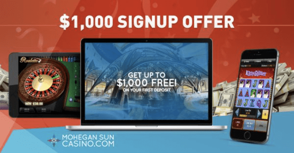 lll▷ Mohegan Sun Online Casino NJ Review + $1000 Bonus | 2019