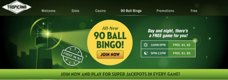 New Jersey Online Bingo