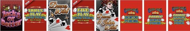 Scores Casino NJ Videopoker