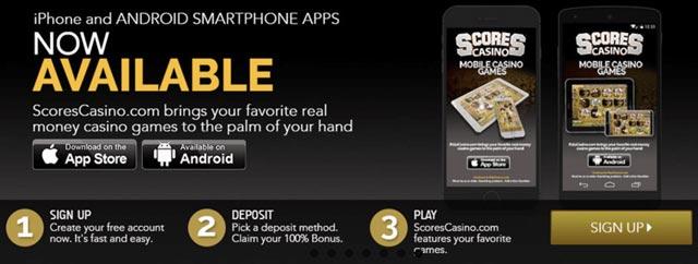Scores Casino App New Jersey