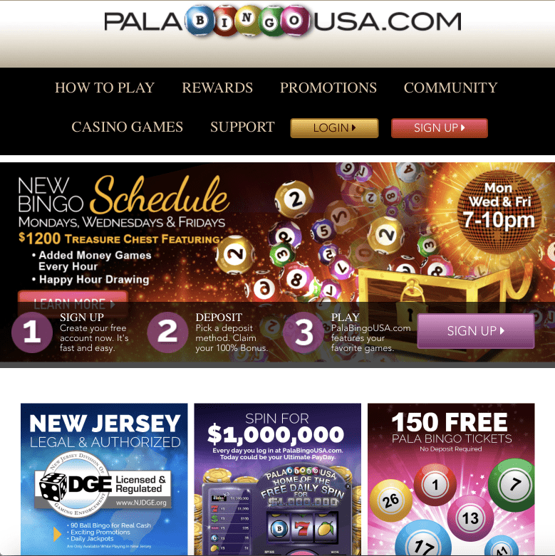 Pala Bingo USA NJ