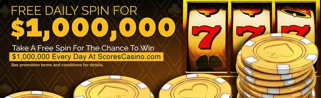 Score Casino Daily Million