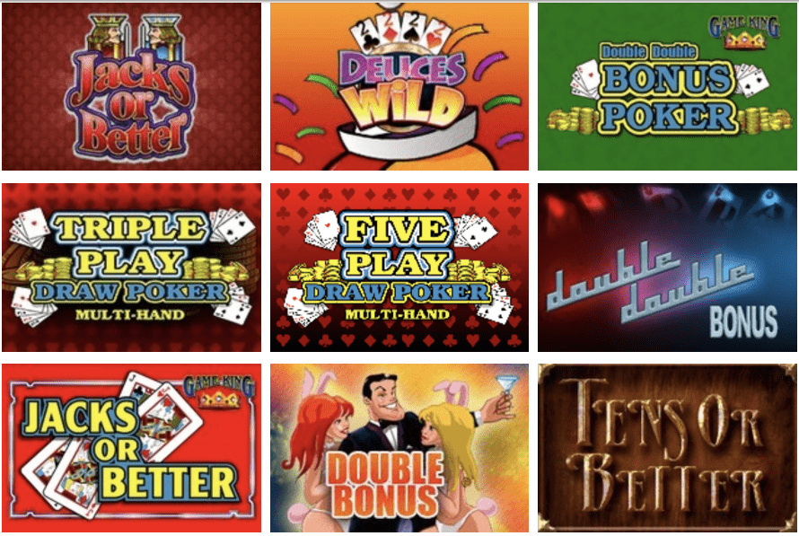 New Jersey Online Video Poker
