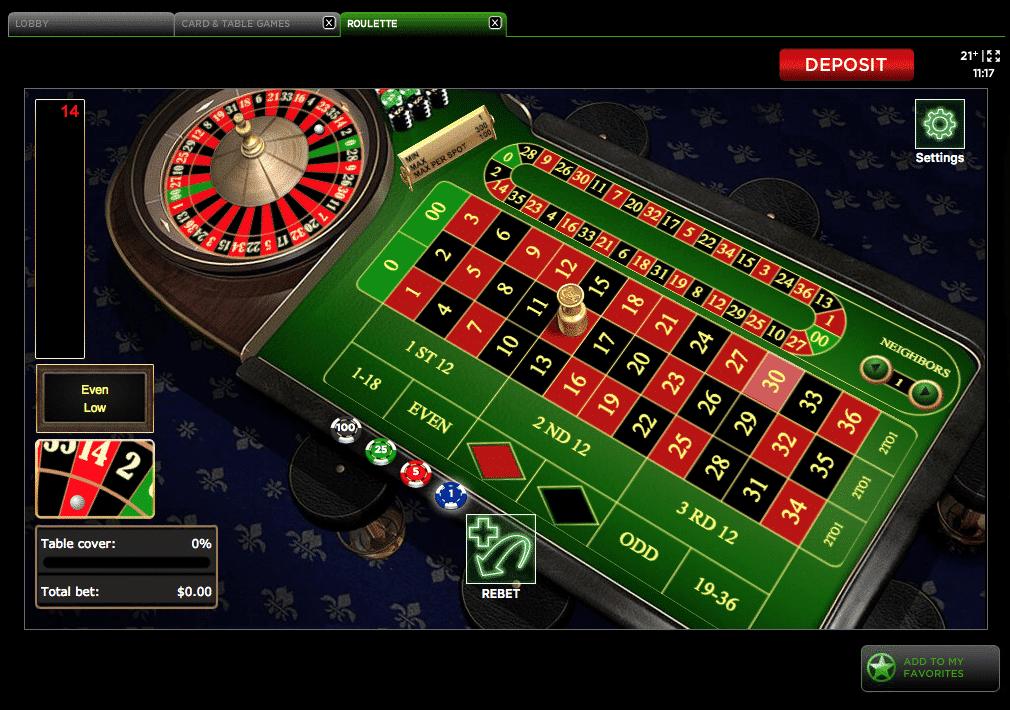 Delaware-Park-online-roulette