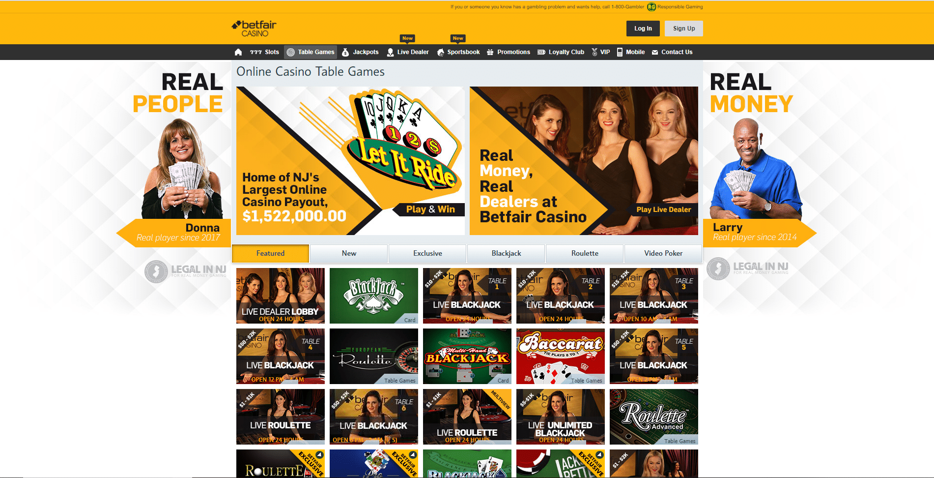 betfair casino 2