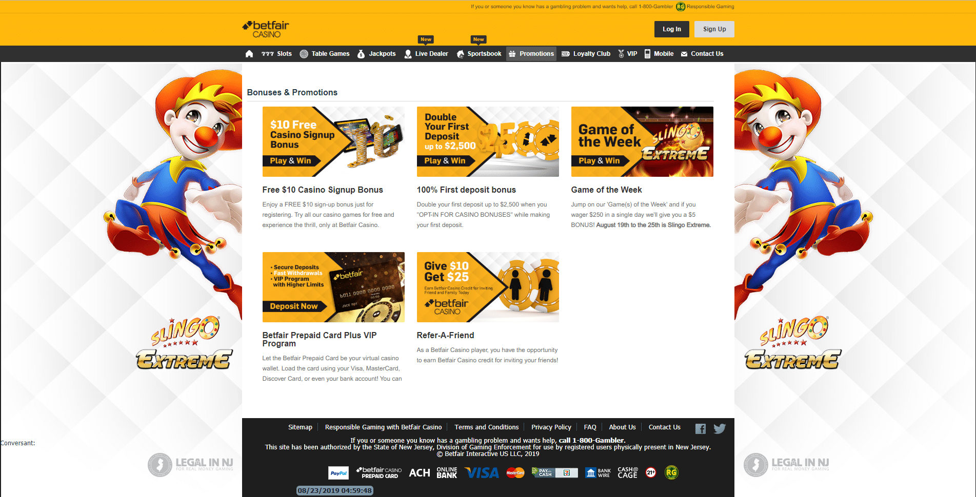 betfair casino 3