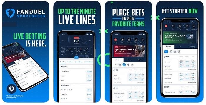 FanDuel Sportsbook Mobile App