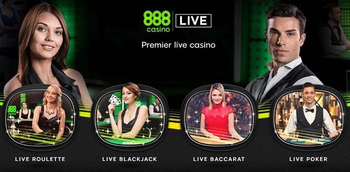 888 Live Casino NJ