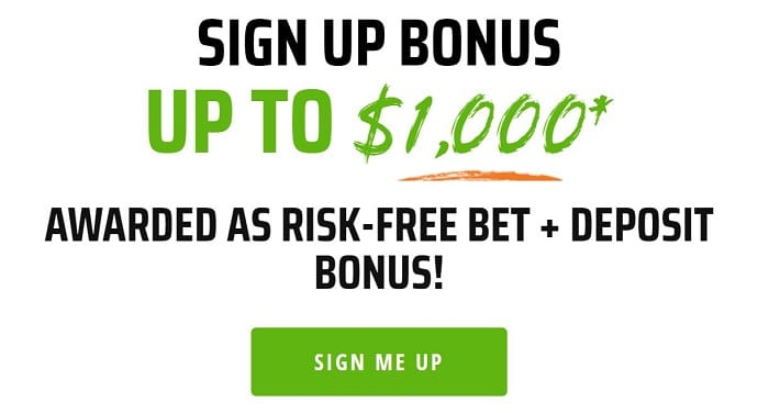 Draftkings Sportsbook Welcome Bonus