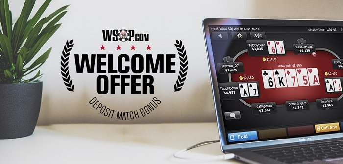 WSOP Welcome Offer