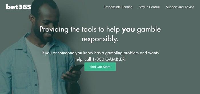 bet365 USA Responsible Gambling