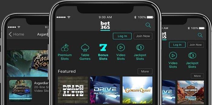 Bet365 NJ USA Casino Mobile App