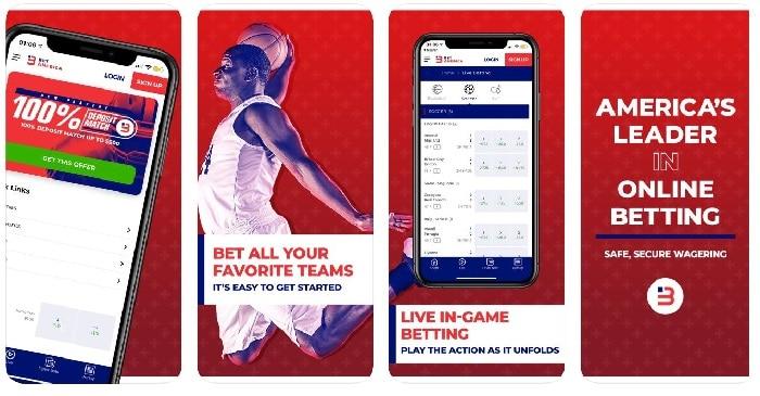 BetAmerica NJ Sportsbook Mobile App