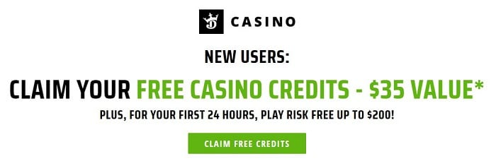 DraftKings Casino NJ Welcome Bonus