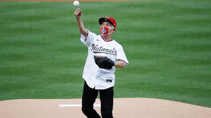 Fauci Starts the MLB 2020 Season
