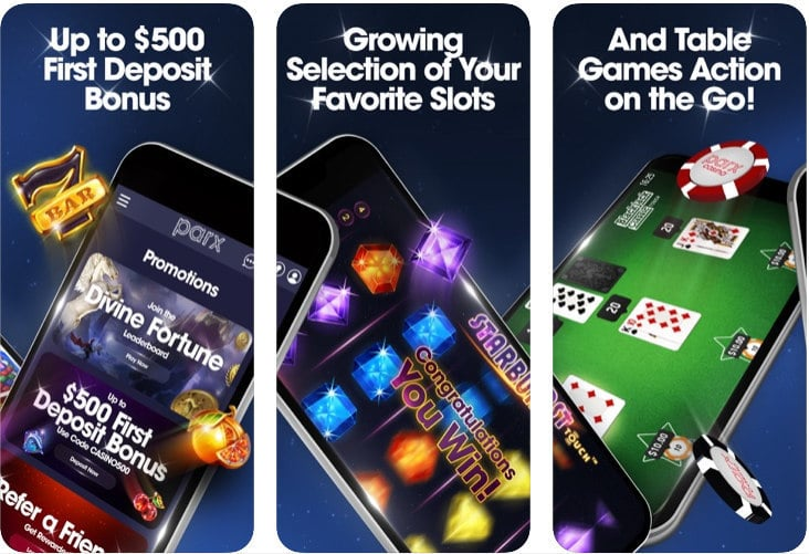 Parx Casino NJ Mobile App