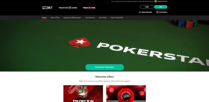 PokerStars NJ Welcome Bonus