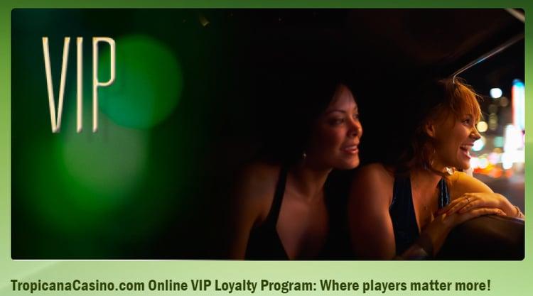 Tropicana AC NJ VIP Loyalty