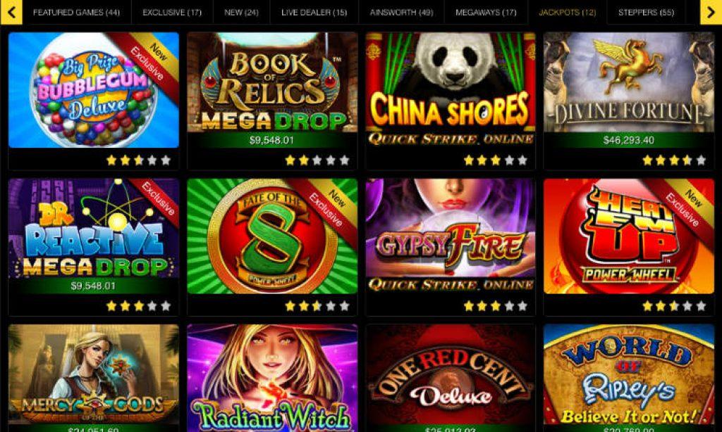 golden nugget online casino jackpot games