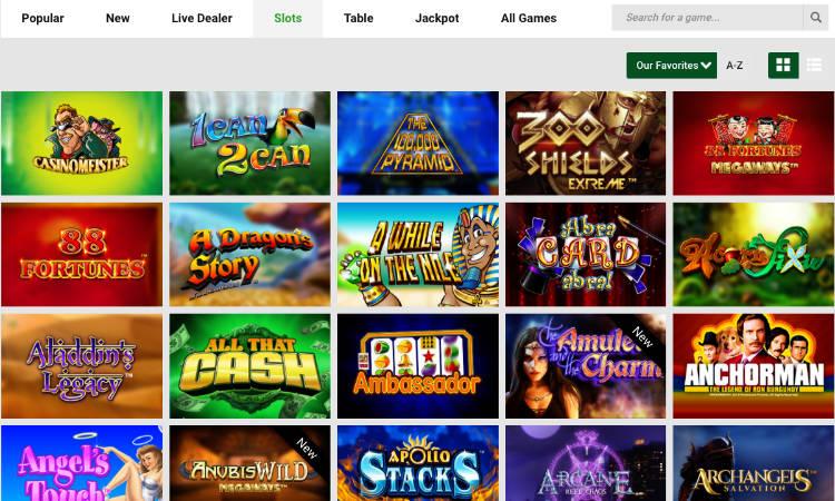 unibet casino slots offer