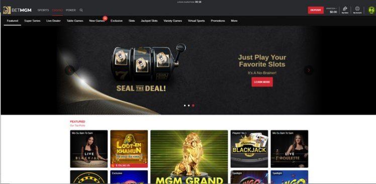 BetMGM NJ Casino Games
