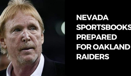 Nevada Sportsbooks Prepared for Oakland Raiders