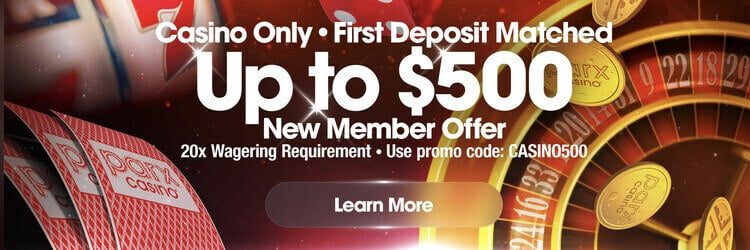 Parx Online Casino Welcome Bonus