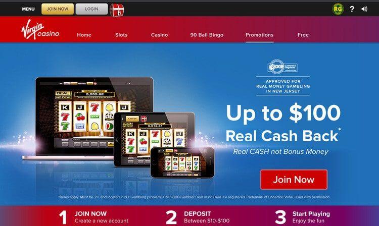 Virgin Casino NJ Welcome Bonus